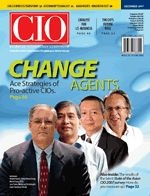 Article in CIO December 2007